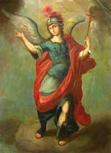 San Miguel Arcángel Autor Desconocido