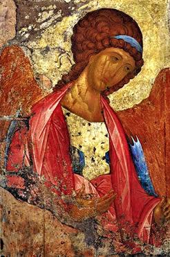 Icono ruso de San Miguel de Andrei Rublev