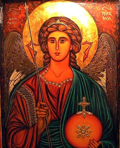 Icono de San Miguel Arcángel – San Miguel Arcángel