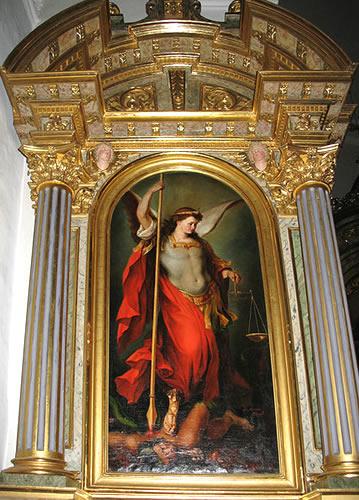 San Miguel Arcángel de Josef Moroder Lusenberg