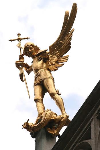 San Miguel Arcángel en Bruselas