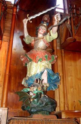 San Miguel Arcángel y su balanza