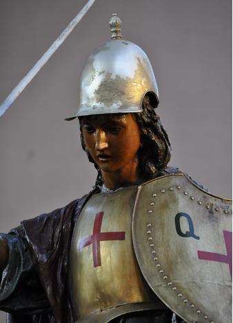 San Miguel Arcángel preparado para la defensa de la verdad