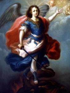 San Miguel Arcángel como el gran vencedor