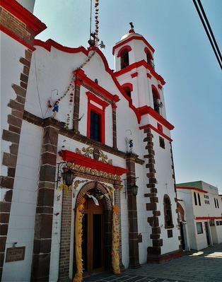 Parroquia de San Miguel Arcángel en San Miguel Tenochtitlán