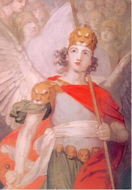 San Miguel Arcángel el líder de los Ángeles