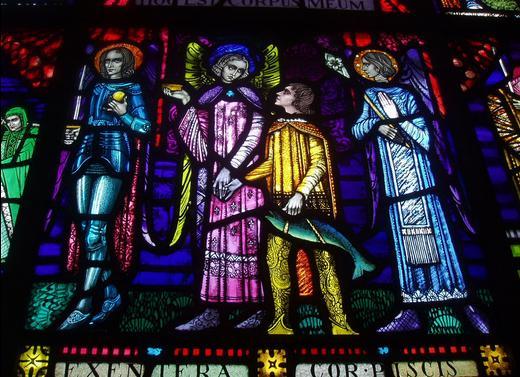 San Miguel, Rafael, Tobías, y Gabriel