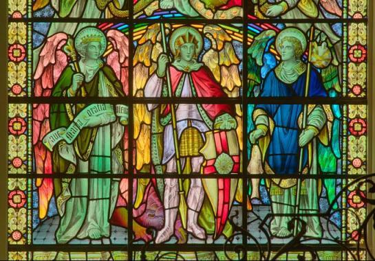 San Miguel, Gabriel y Rafael