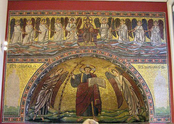 San Miguel, San Gabriel y Jesucristo
