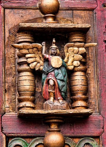 El Príncipe de la milicia celestial San Miguel Arcángel