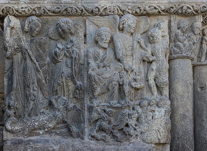 San Miguel Arcángel sometiendo al maligno
