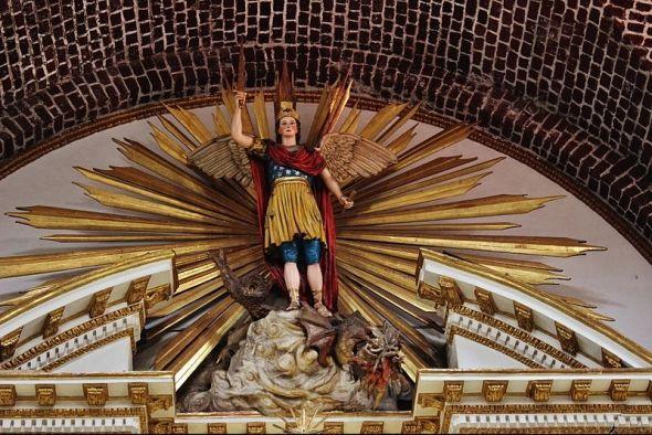San Miguel Arcángel victorioso
