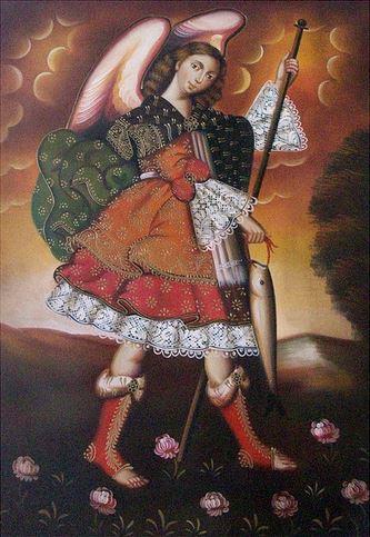 San Rafael Arcángel el que cura