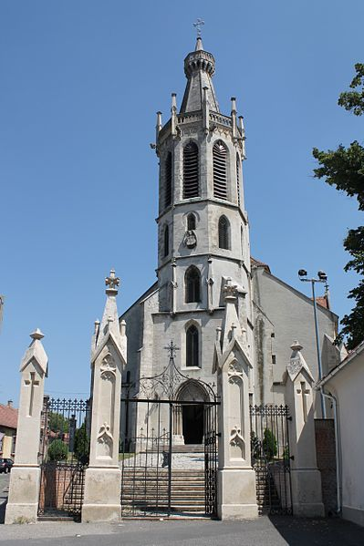 Iglesia de San Miguel Arcángel en Hungría