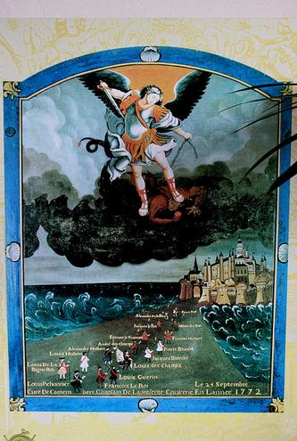 San Miguel Arcángel en Normandia
