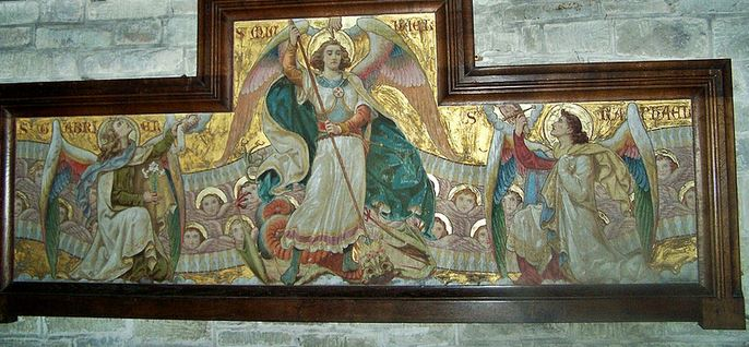 San Miguel Arcángel, Gabriel y Rafael
