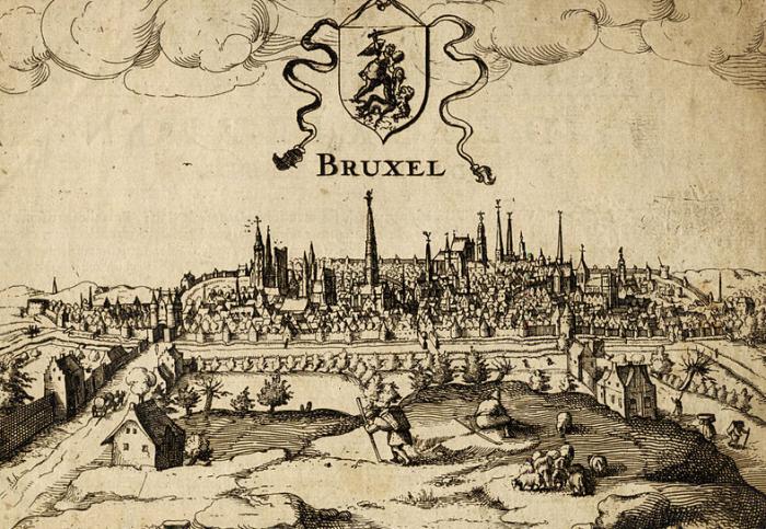 San Miguel Arcángel sobre Bruselas