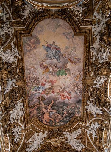 San Miguel Arcángel expulsando a los ángeles rebeldes_1
