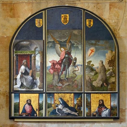 Retablo de San Miguel Arcángel