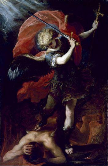 San Miguel Arcángel venciendo a Lucifer_1