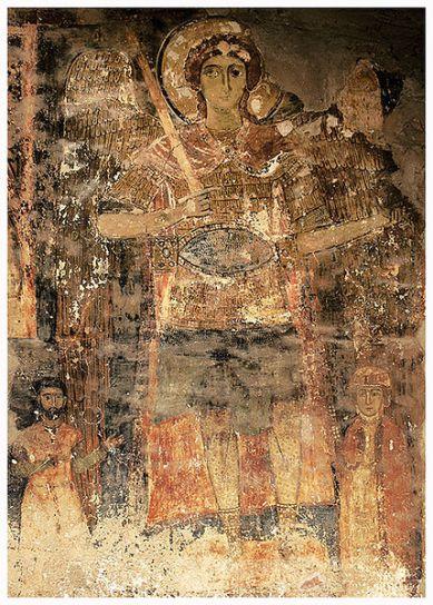 Fresco de San Miguel Arcángel
