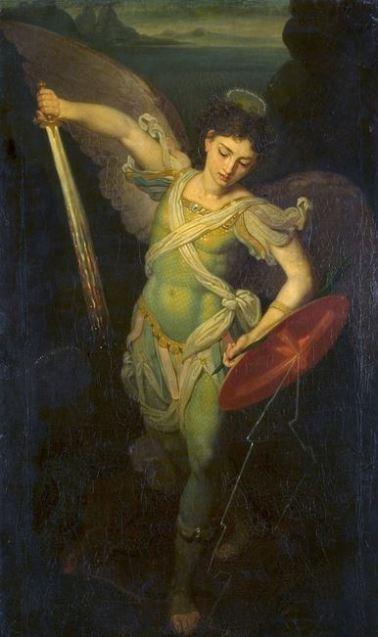 San Miguel el gran guerrero