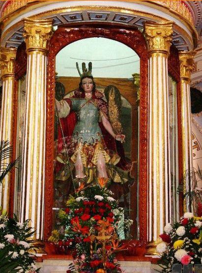 El glorioso príncipe San Miguel Arcángel