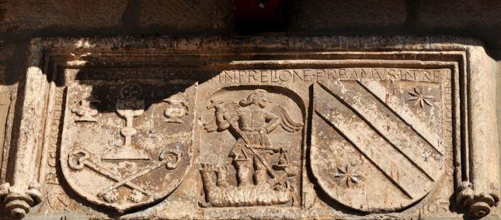 San Miguel Arcángel venciendo a la bestia