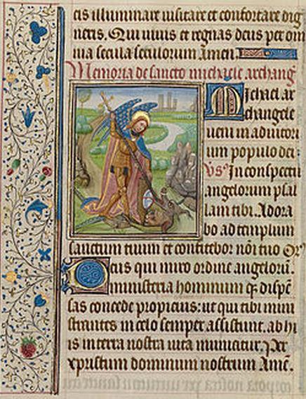 San Miguel Arcángel y el Dragón