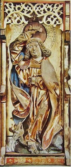 San Miguel Arcángel en lucha contra el dragón_1