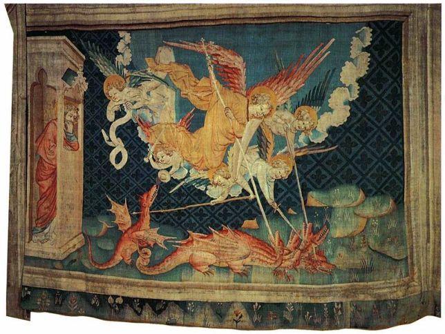 San Miguel Arcángel luchando contra el dragón 2