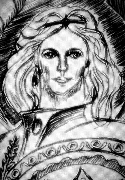 El rostro de San Miguel Arcángel