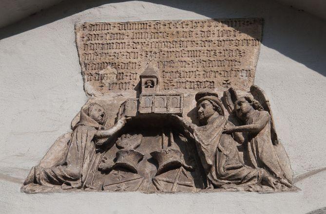 San Miguel Arcángel en el establecimiento de alivio