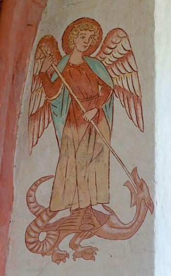 San Miguel Arcángel venciendo al Dragón 1