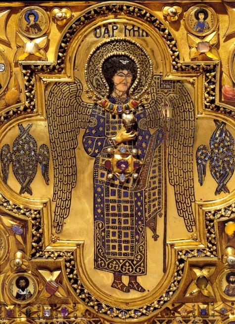 ícono de San Miguel Arcángel