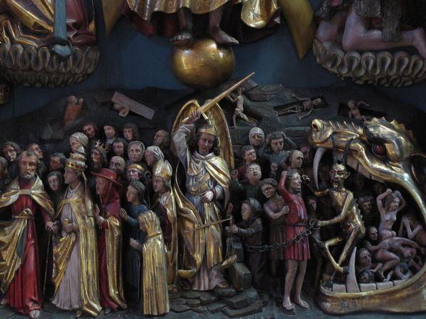 San Miguel Arcángel en el juicio final 2