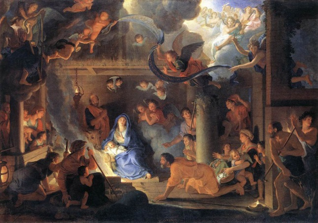 La Sagrada Familia y el Arcángel Gabriel