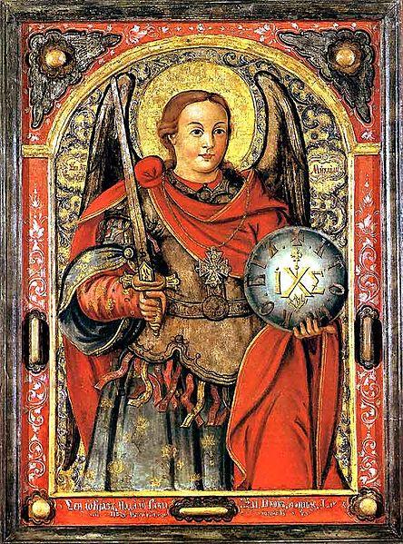 San Miguel Arcángel el gran Príncipe de la milicia de Dios
