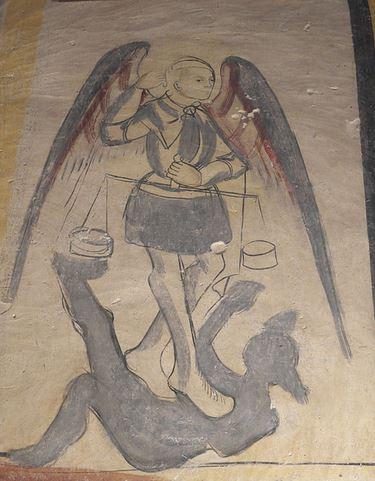 San Miguel Arcángel el pesador de las almas