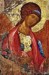 ícono ruso de Miguel Arcángel de Andrei Rublev