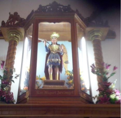 Arcángel San Miguel en Ahuachapan