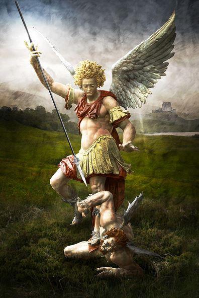 El triunfo de San Miguel Arcángel