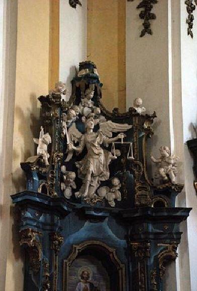 San Miguel Arcángel como pesador de almas