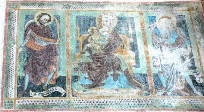 San Miguel Arcángel con la escala para pesar las almas