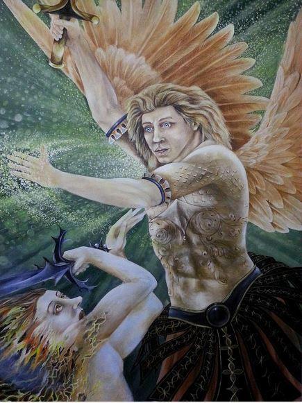 San Miguel Arcángel defiéndenos en la batalla