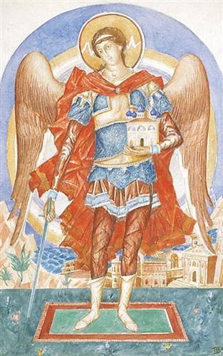 San Miguel Arcángel el protector de la iglesia