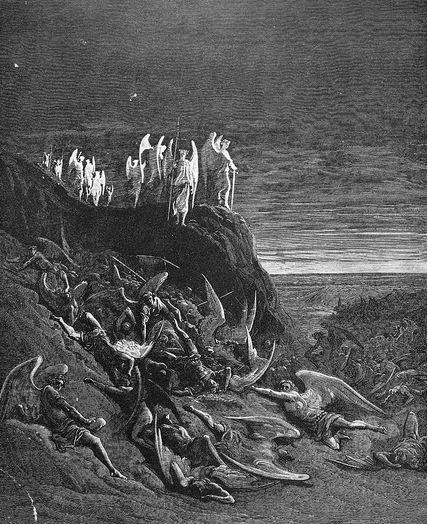 San Miguel Arcángel montando guardia