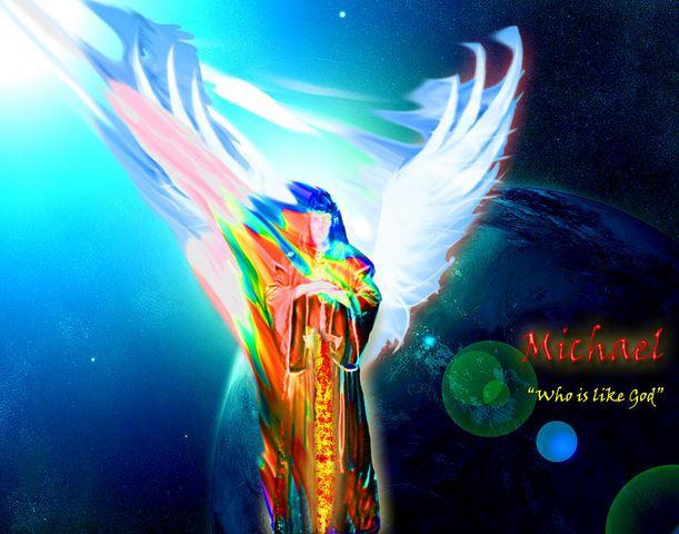 Arcángel Miguel velando por la Tierra