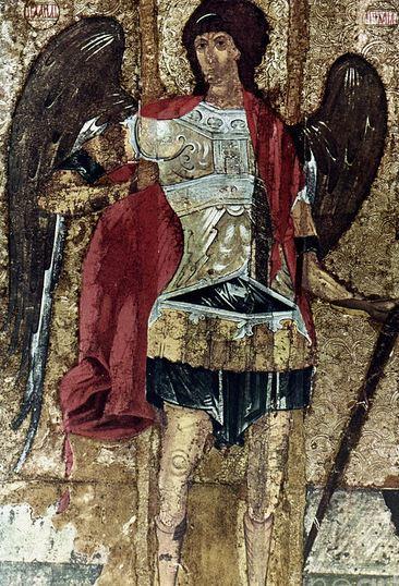 Icono ruso de San Miguel Arcángel
