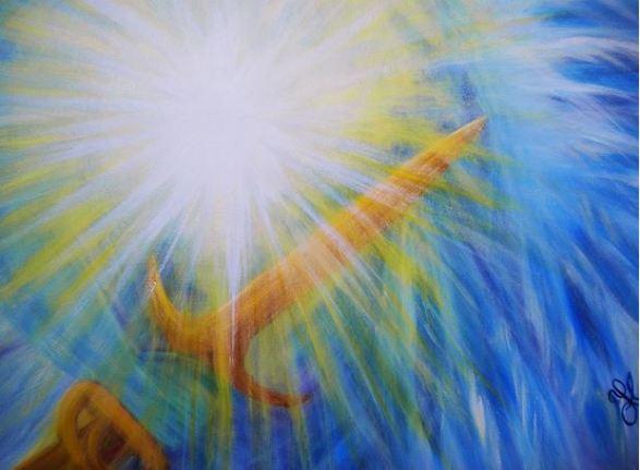 San Miguel Arcángel y su resplandor